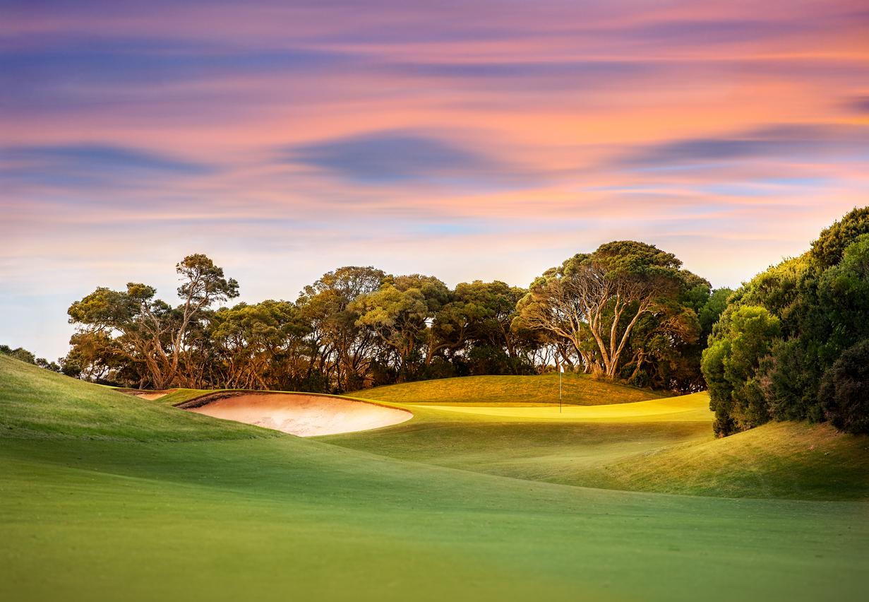 Världens näst nordligaste golfbana